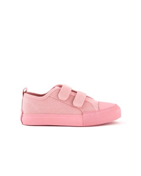 Girls Be Great Pink Sneakers -  dustypink