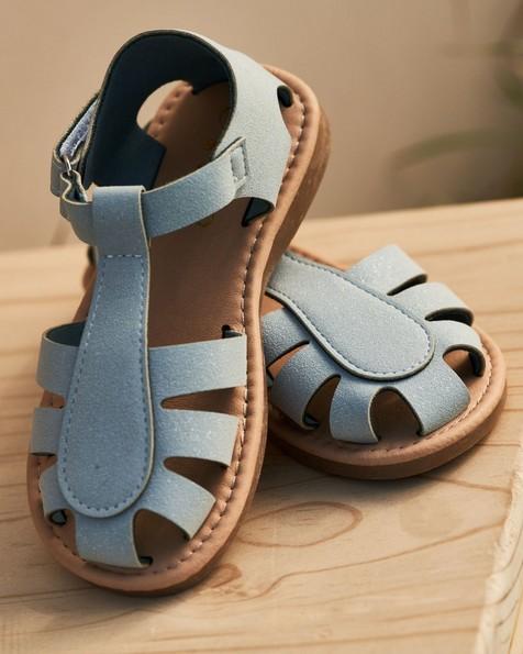 Girls Explorer Cage Sandals -  cloudblue