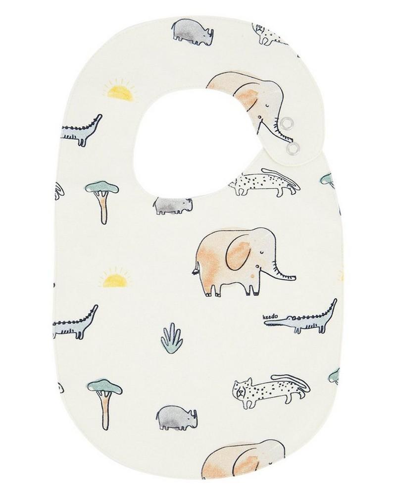 Babies Wilderness Bib -  milk