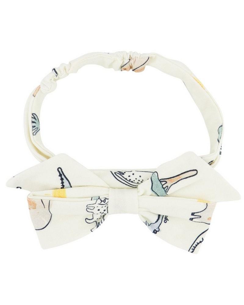Baby Girls Wilderness Headband -  milk