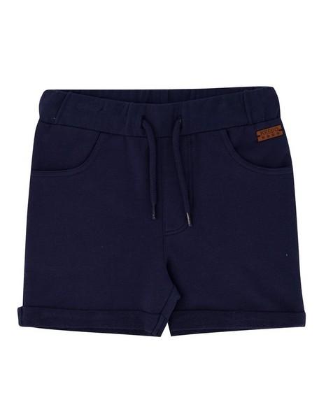 Boys Deep Navy Logo Shorts -  navy