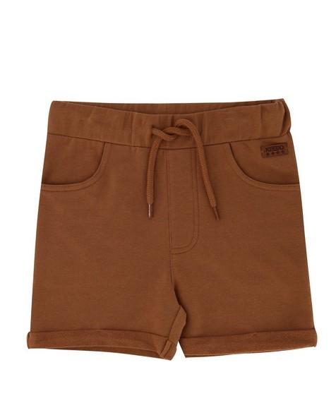 Boys Toffee Logo Shorts -  brown