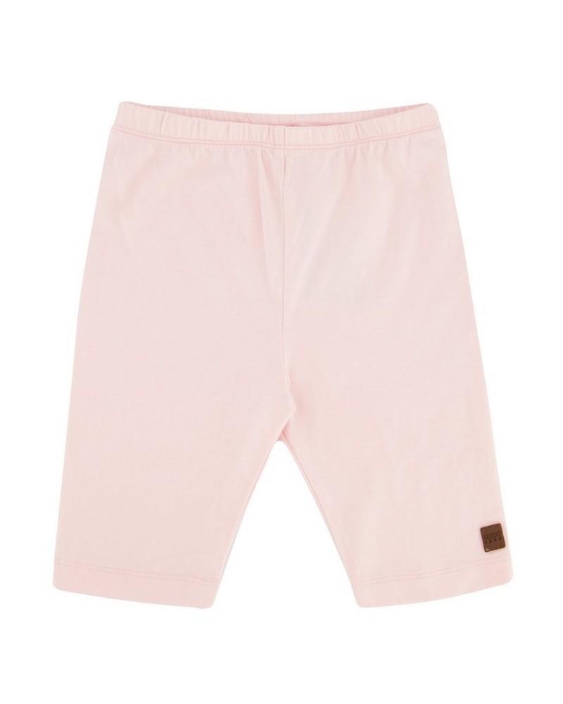 Girls Blush Logo Cycle Shorts -  lightpink