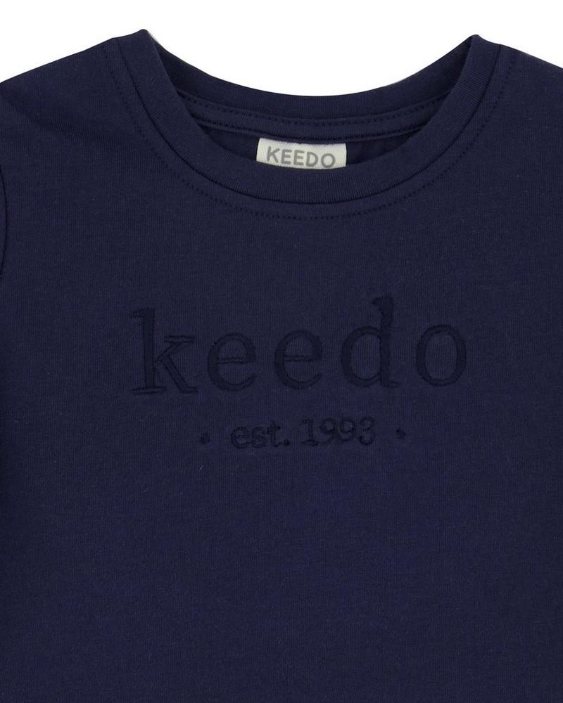 Babies Deep Navy Logo T-Shirt -  navy