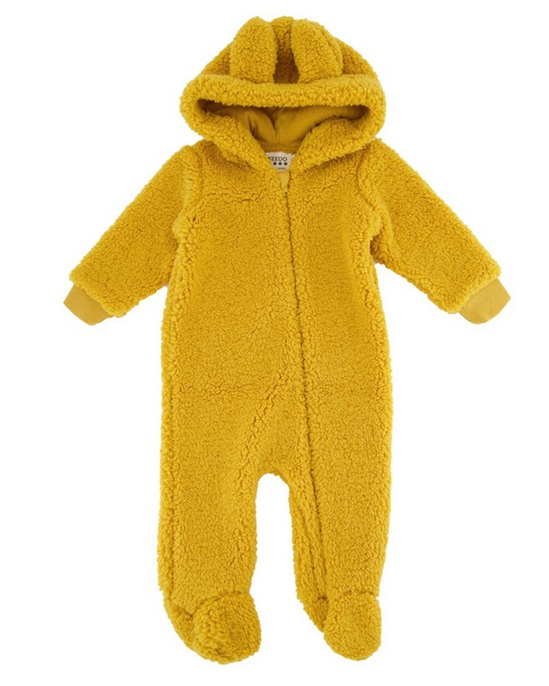 Babies Bright Gold Teddy Grow -  gold