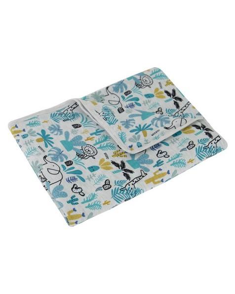 Baby Boys Hide & Seek Blanket -  silvergrey