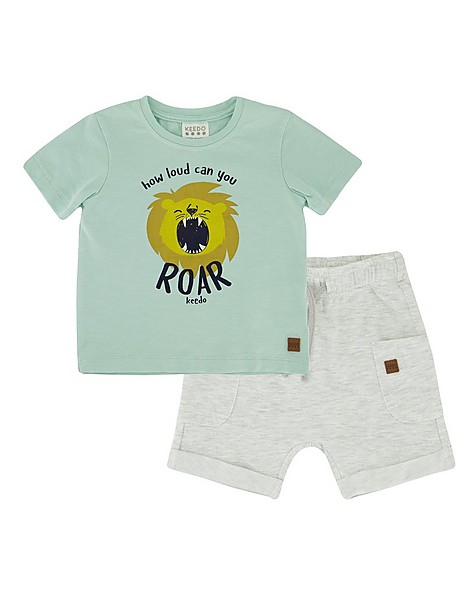Baby Boys All Day Set -  duck-egg