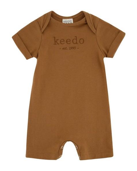Baby Boys Toffee Logo Grow -  brown