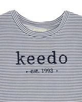 Babies Stripe Logo T-Shirt -  white