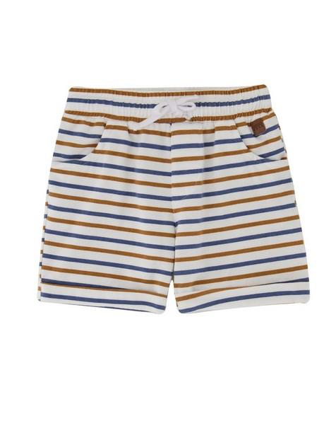 Baby Boys Element Stripe Shorts -  white