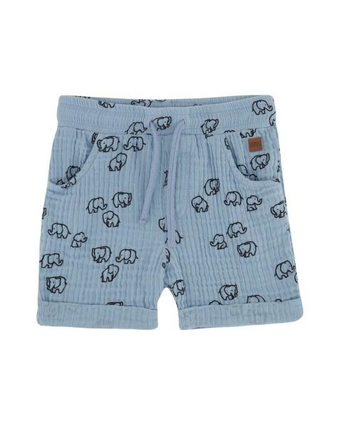 Baby Boys Memory Muslin Shorts -  cloudblue