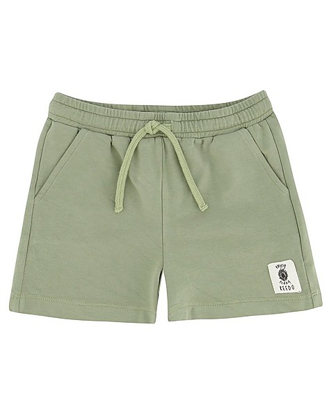 Girls Seagrass Shorts Set -  lightolive