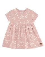Baby Girls Cluster Ditsy Dress -  dustypink