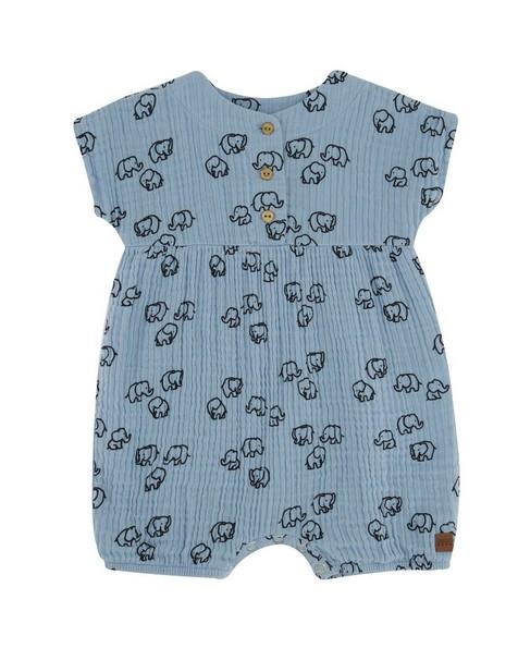 Baby Girls Memory Muslin Grow -  cloudblue