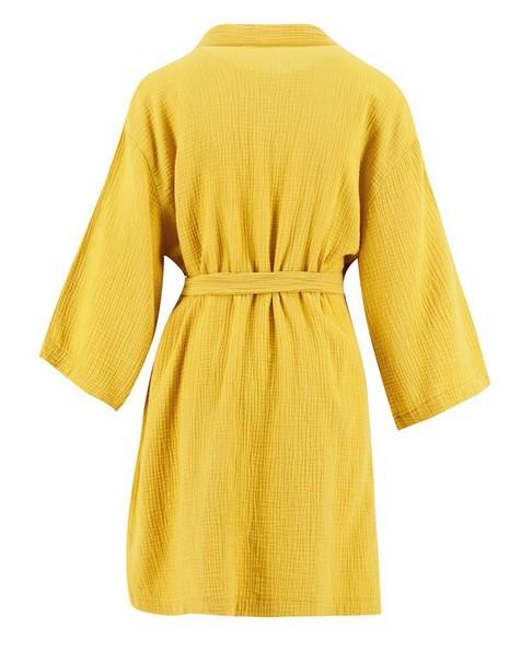Mom Oakley Kimono Gown -  eggyellow
