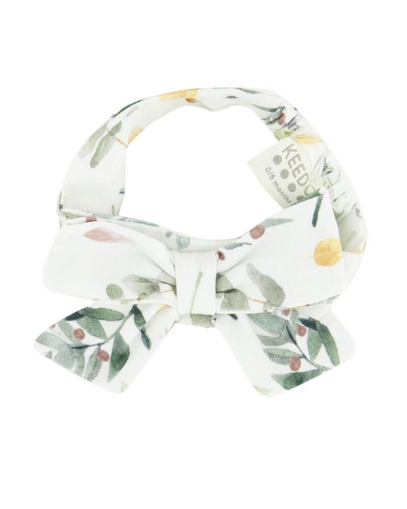 Baby Girls Willow Headband -  white