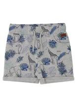 Boys Contour Animal Shorts -  silvergrey