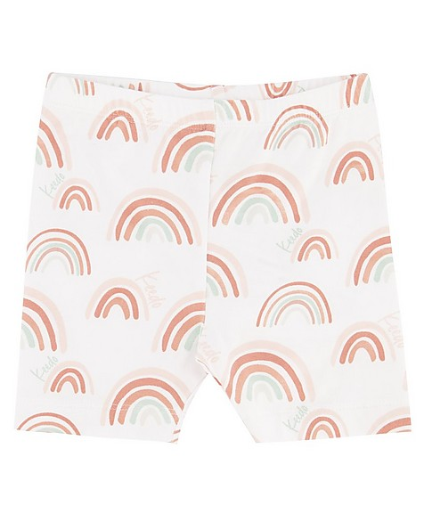 Baby Girls Rainbow PJ Set -  white