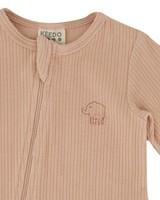 Baby Girls Rose Organic Zippy Grow -  palepink