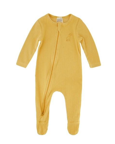 Babies Sahara Organic Zippy Grow -  yellow