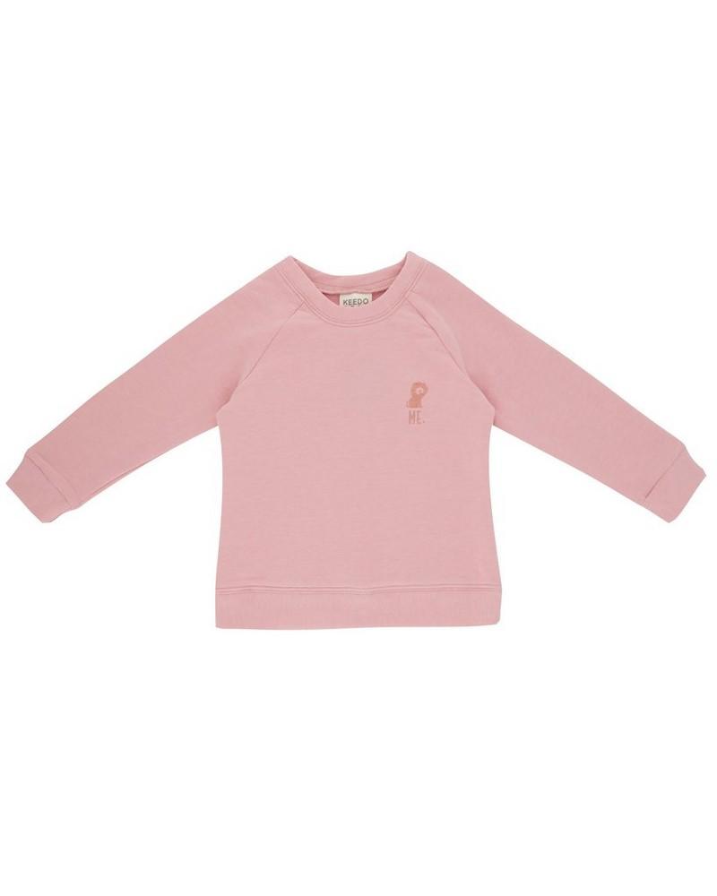Girls Mini Coral Blush Tracksuit -  pink