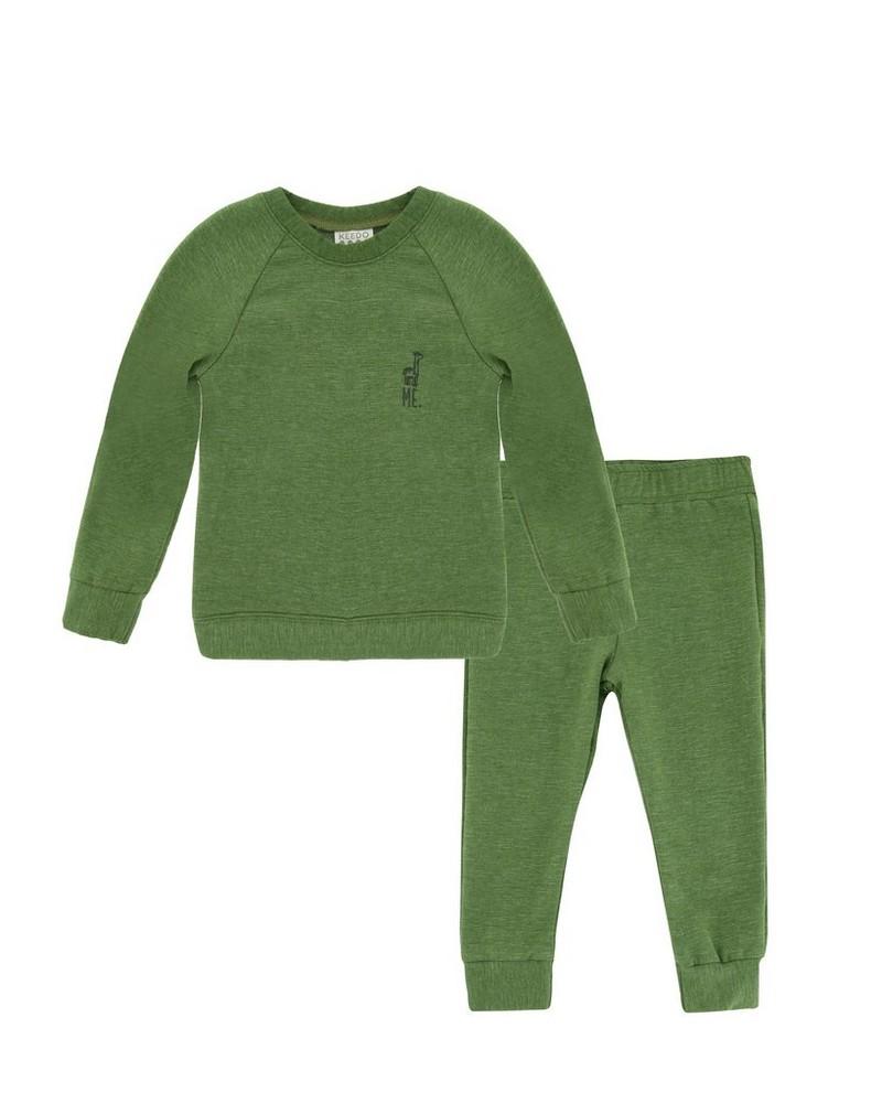 Kids Mini Forest Tracksuit -  dark-green