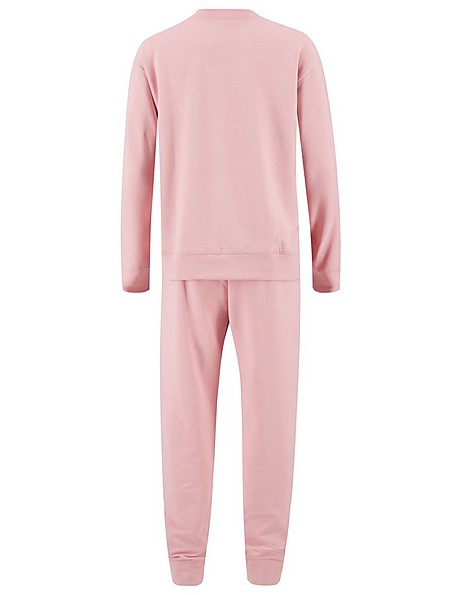 Mom Coral Blush Tracksuit -  pink