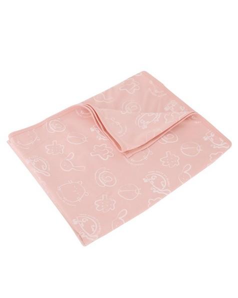 Baby Girls Mellow Blanket -  dustypink