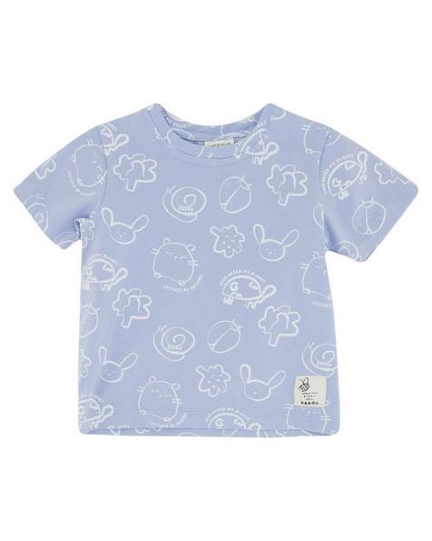 Babies Little Friends Tee -  cloudblue