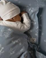 Blue Duvet Cover & Pillowcase -  blue