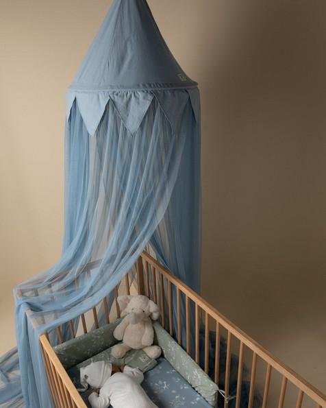 Blue Mosquito Net -  blue