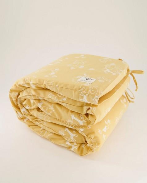 Mustard Cot Bumper -  yellow