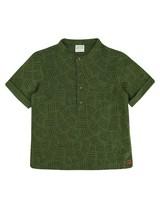 Boys Tanner Henley Shirt -  fatigue