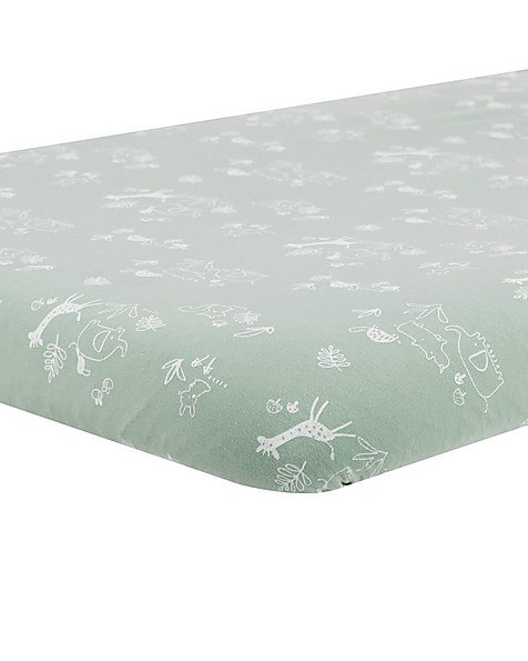 Sage Changing Mat Cover -  green