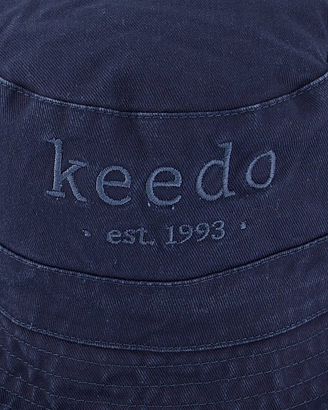 Kids Deep Navy Logo Hat -  navy