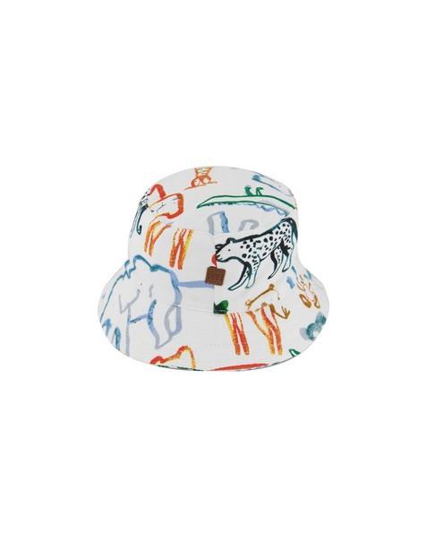Baby Boys Dylan Bucket Hat -  white