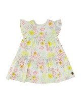 Baby Girls Meadow Tiered Dress -  white
