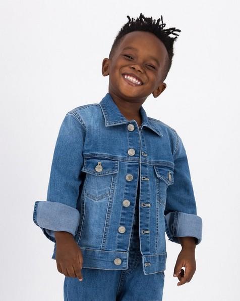 Boys Everyday Denim Jacket -  midblue