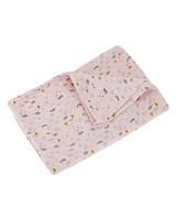 Baby Girls Wildflower Blanket -  palepink