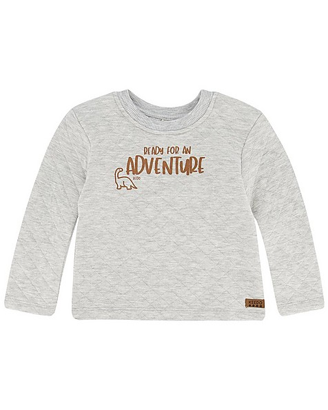 Baby Boys Adventure Quilted Set -  silvergrey