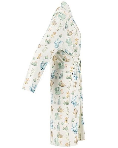 Mom Candlewood Wrap Gown -  white