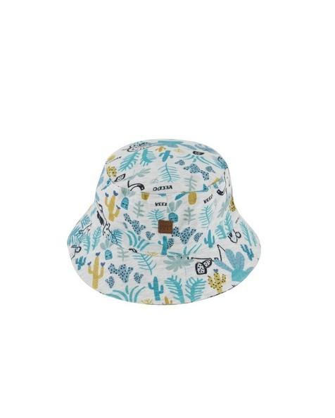 Boys Hide and Seek Bucket Hat -  silvergrey