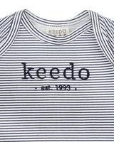 Babies Stripe Logo Grow -  white