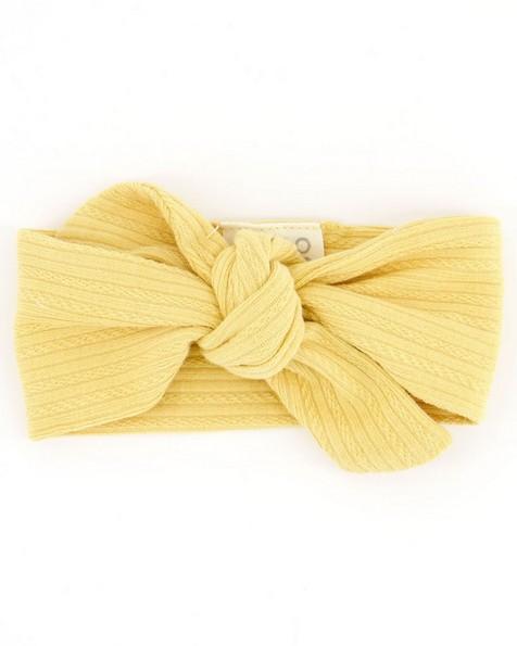 Baby Girls Sahara Organic Headband -  yellow
