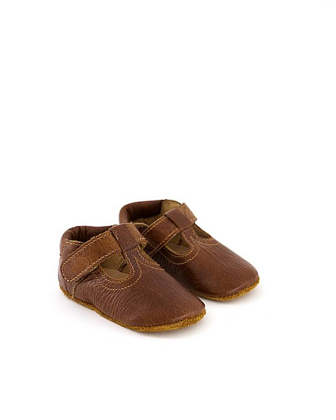 Babies Leather Soft Soles -  brown