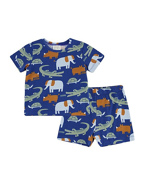 Baby Boys Nap PJ Set -  indigo
