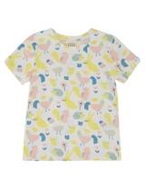 Girls Dreamer PJ Set -  white