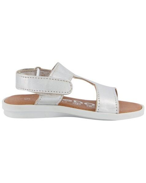 Girls Silver Sandal -  silver
