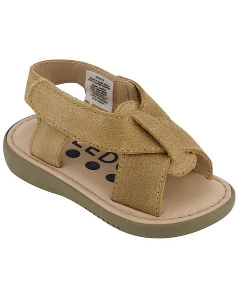 Boys Desert Sandal -  brown