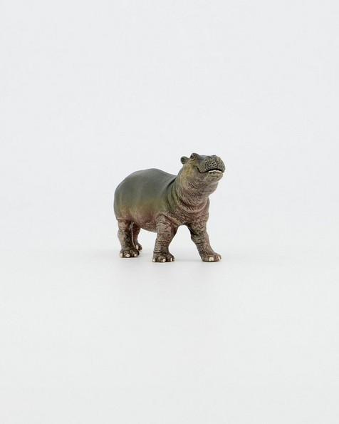 Hippopotamus Calf Toy -  red